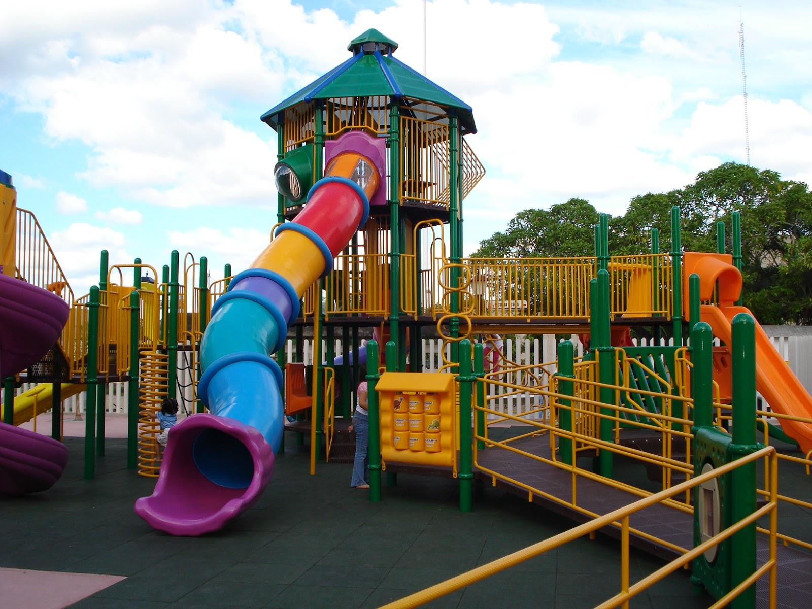 Historias desde lugo por qu no se ponen m s parques - Como hacer un parque infantil ...