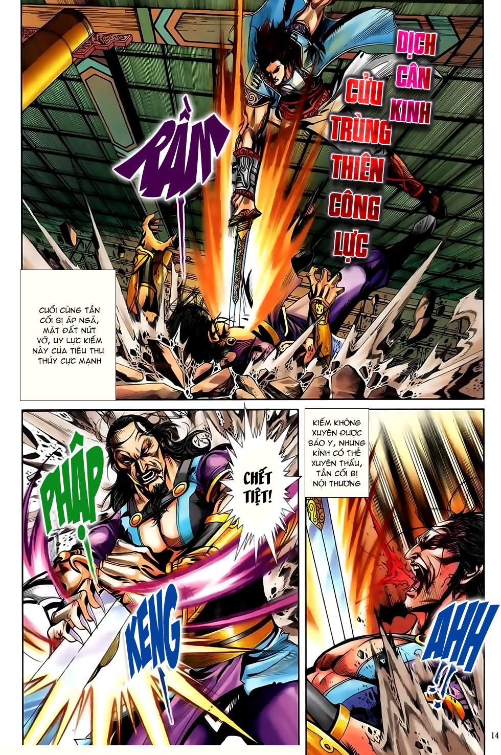 Đại Hiệp Truyền Kỳ (Thần Châu Hậu Truyện) chap 50 - Trang 13