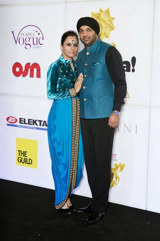 Roohi and Kulwant Singh, Masala! Awards 2014 Photo Gallery