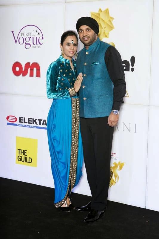 Roohi and Kulwant Singh, Masala! Awards 2014 Photo Gallery