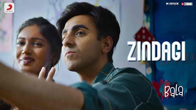 Zindagi Lyrics - Bala   Papon