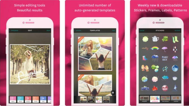 تطبيق Fuzel Collage