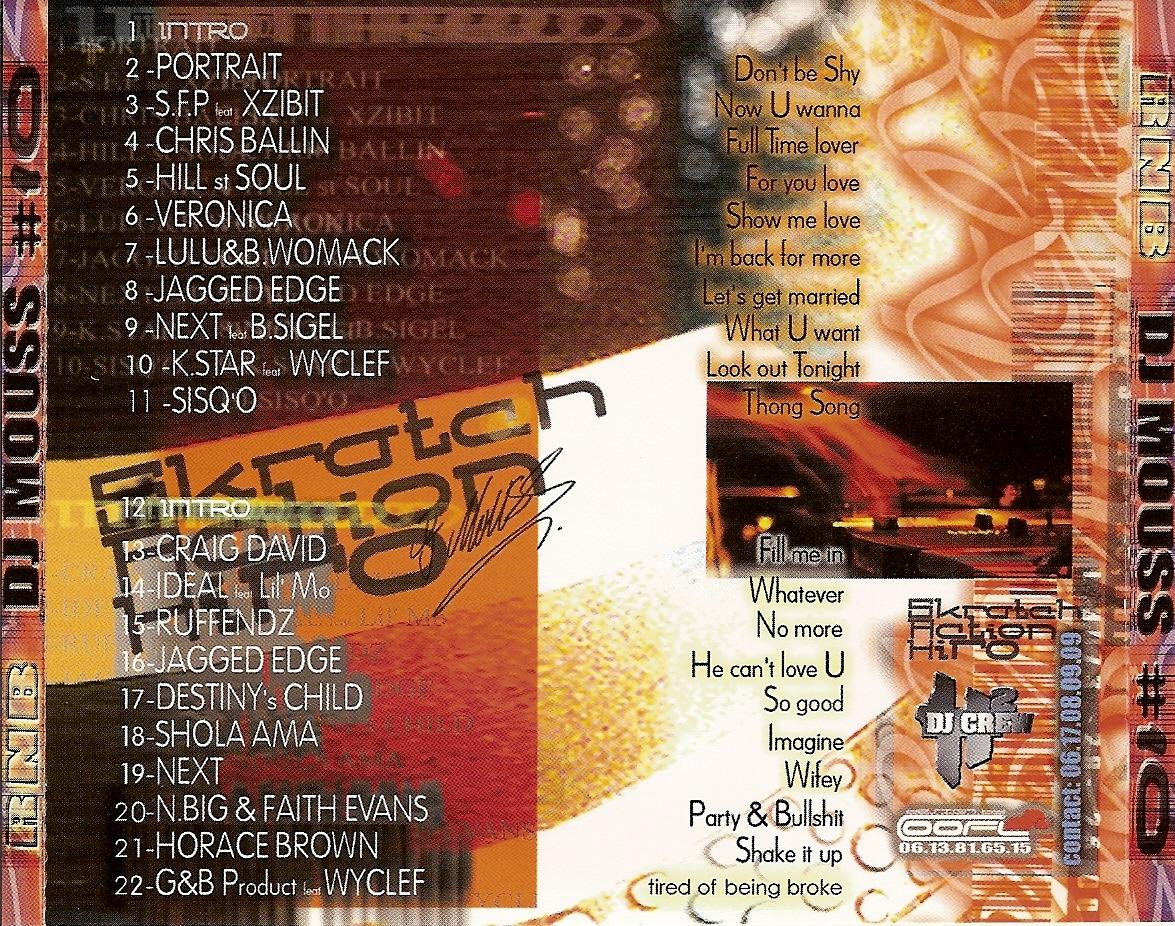 Dj mouss — wanted mixtape n°6 (1998) dj mouss wanted mixtape vol.