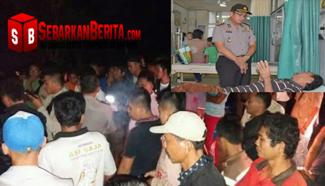 Kepala Dusun MEDAN Dibunuh Gara-gara Ucapan Tak Senonoh Kepada Anak Perempuan Tersangka.