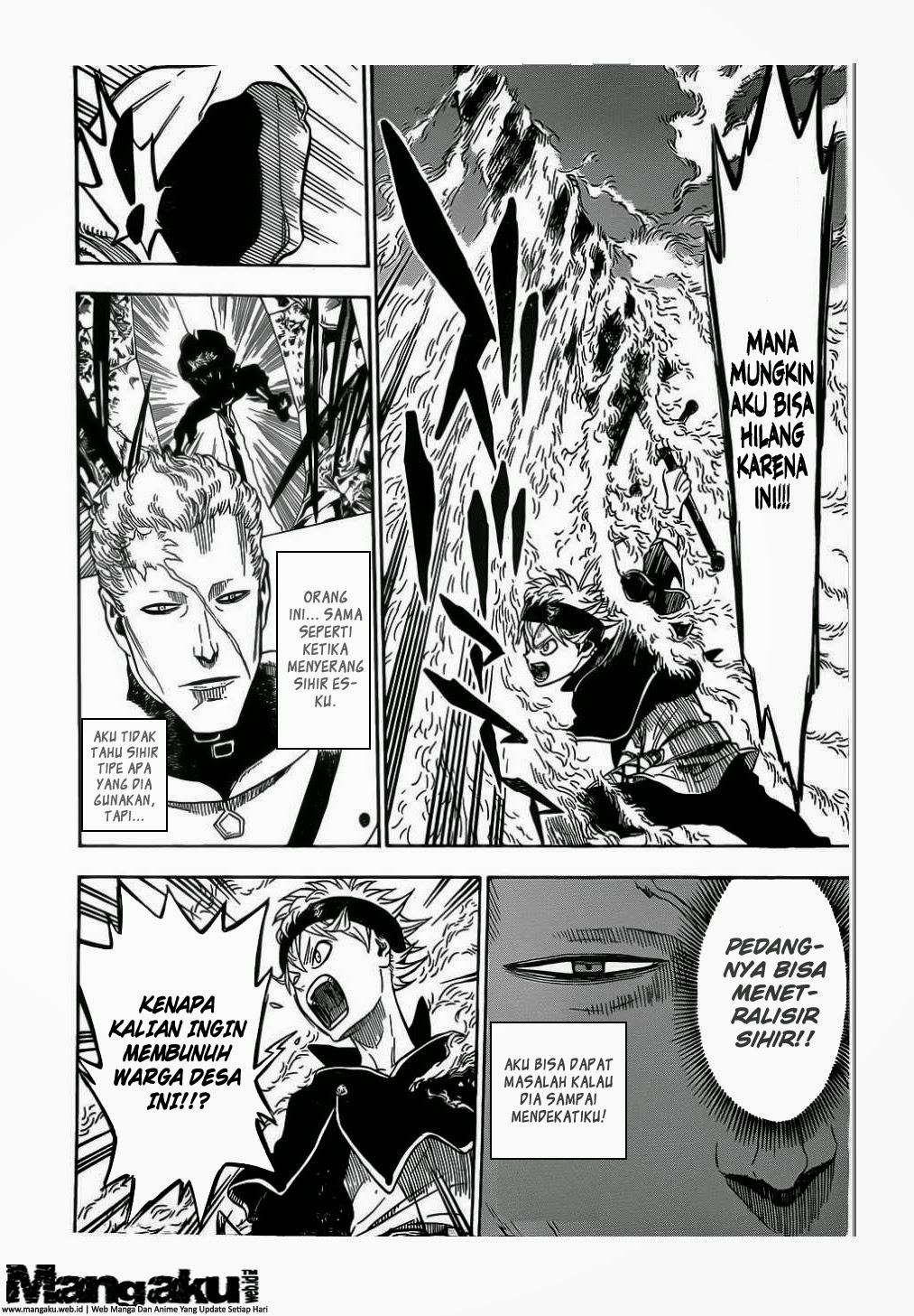 Black Clover chapter 7 : Monster