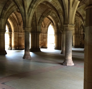 Cloisters at Glasgow University