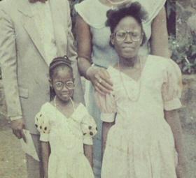 OAP Tosyn Bucknor shares major throwback photo of herself and her older sister, Funke