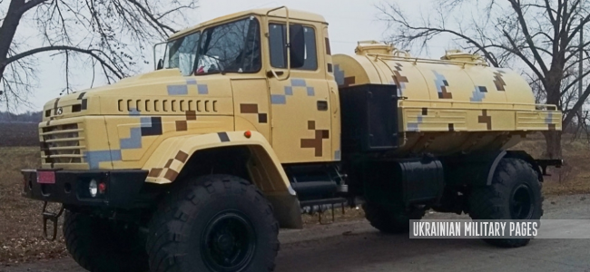 Автоцистерна КрАЗ-5233ВЕ