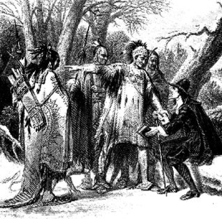 images of native americans and pilgrims relationship