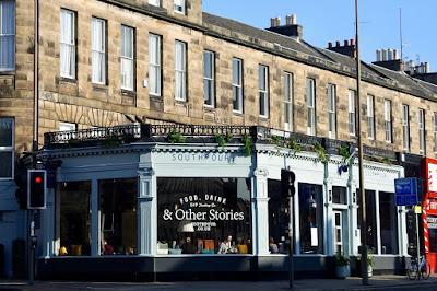 southpour Edinburgh cafes: Southpour, Lovecrumbs, Forest, Scottish Storytelling Centre