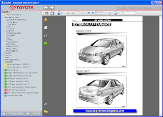 Toyota Camry Service Manual