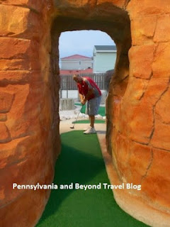 Jurassic Mini Golf in North Wildwood New Jersey