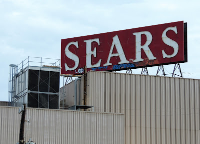SEARS roof-top sign in Midtown