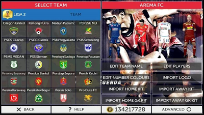 Download Game Mod GARUDA17: FTS FIFA 17 by DrHa Apk + Data For Android Terbaru