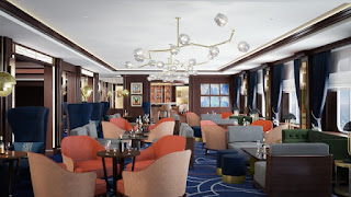 Cunard Queen Victoria Refitted Chart Room - Rendering