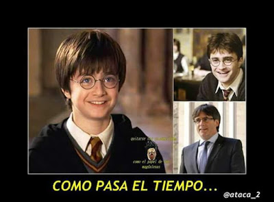Harry Potter, Puigdemont
