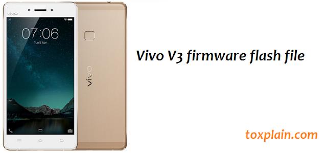 Vivo V3 Firmware Flash File