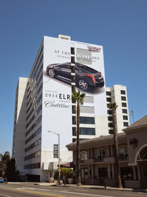 Giant Cadillac 2014 ELR coupe billboard