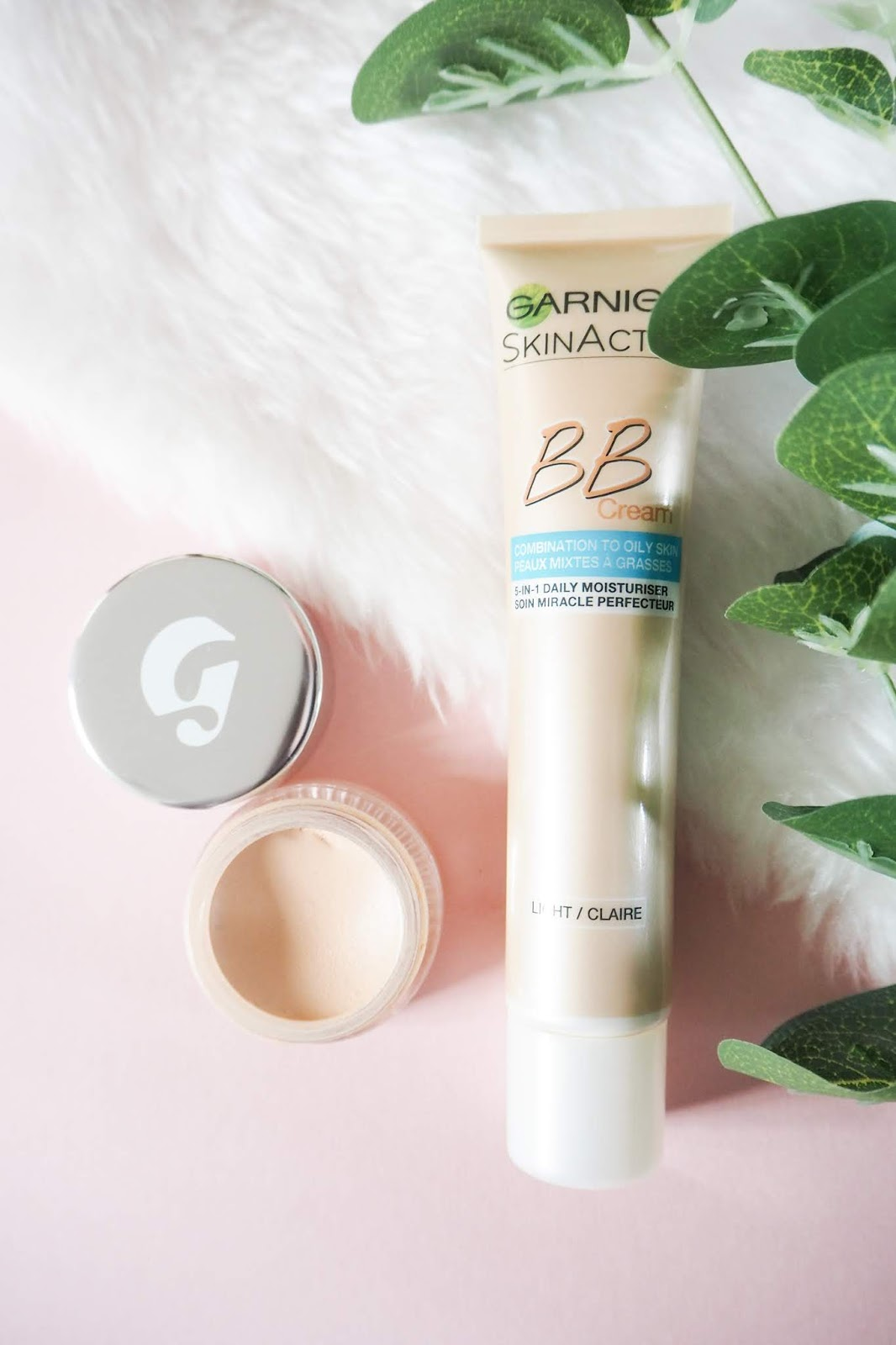 Gym Makeup - Garnier CC Cream in Light and Glossier Stretch Concealer in Light Review