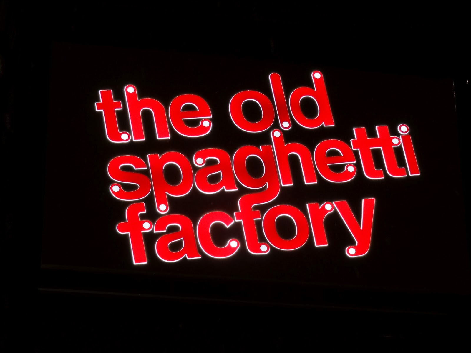 reviews of The Old Spaghetti Factory