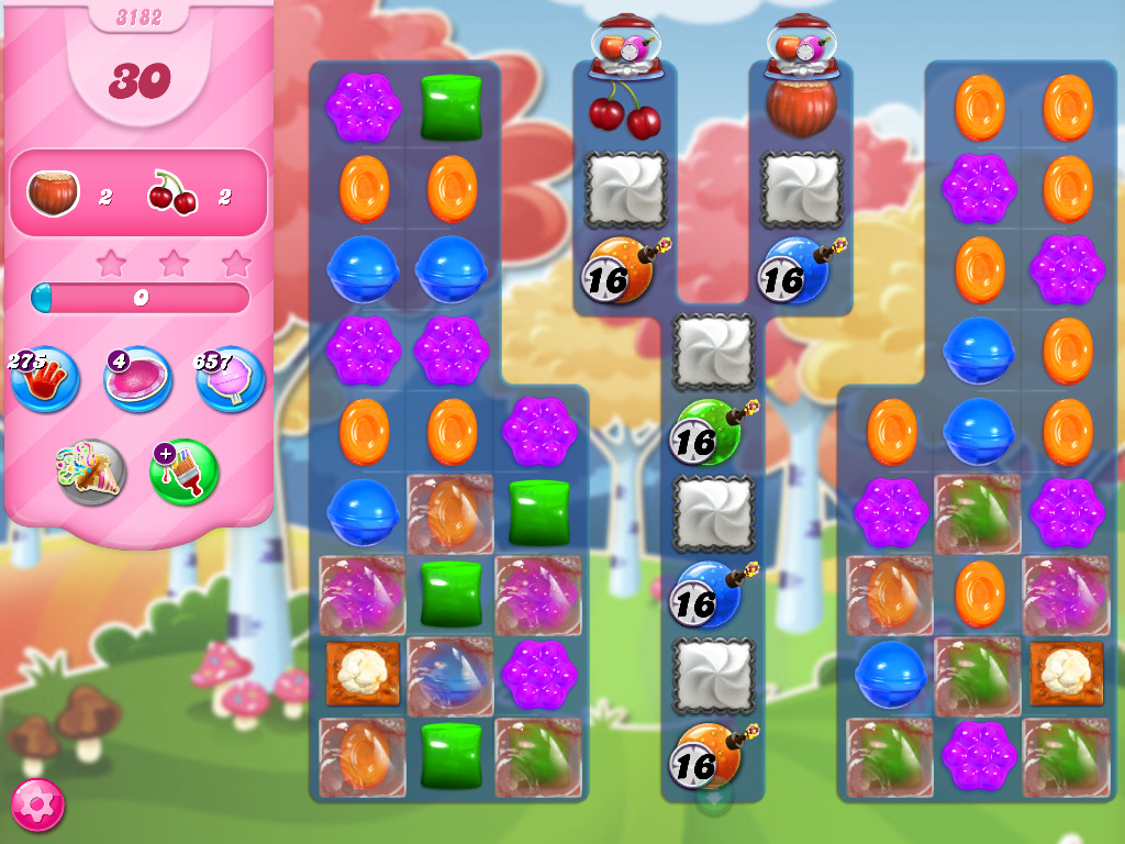 Candy Crush Saga level 3182
