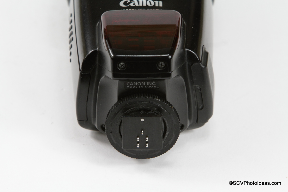 Canon Speedlite 580EX mounting foot