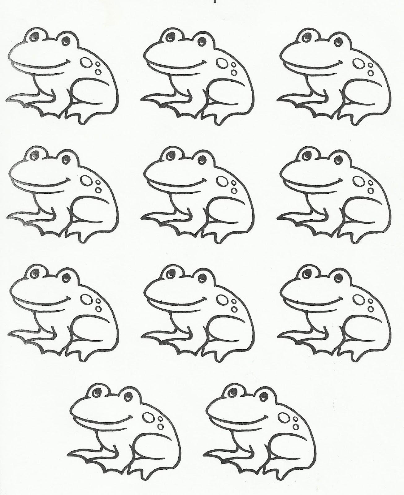 Squish Preschool Ideas: Tadpole To Frog