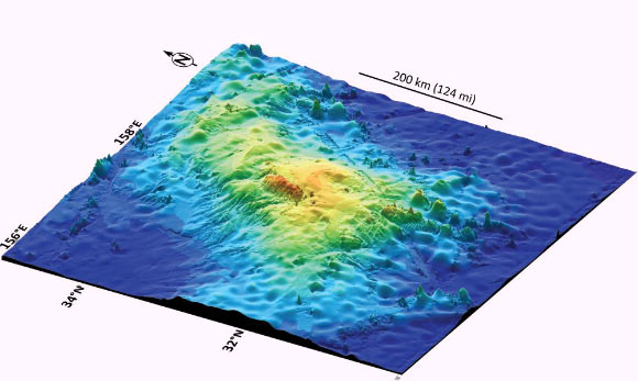 Tamu Massif: Largest Volcano on Earth Discovered Beneath Pacific Ocean
