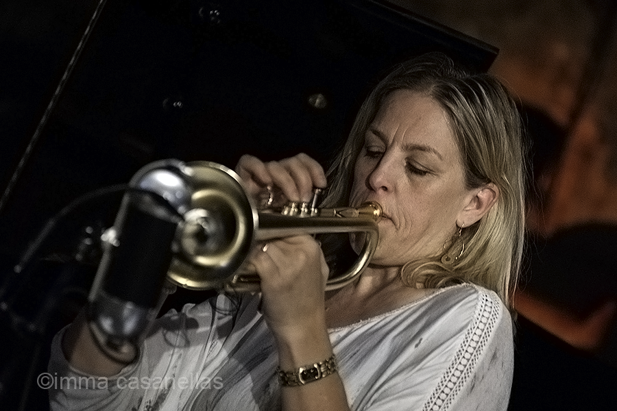 Ingrid Jensen, Jamboree Jazz Club, Barcelona, 7-11-2015