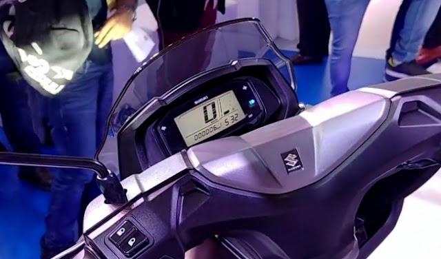 New 2018 Suzuki Burgman Street 125 speed mitor