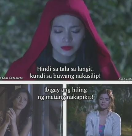 Angel Locsin Doing The 'Tala Sa Langit' Chant In Her Different Iconic Roles
