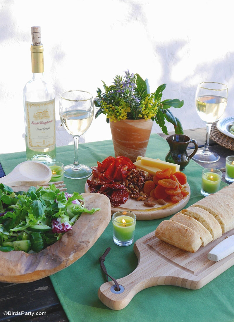 Tips for Hosting a Relaxed Dinner Party - BirdsParty.com