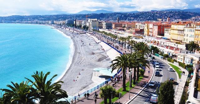 Viagem de carro de Paris a Nice ou de Nice a Paris