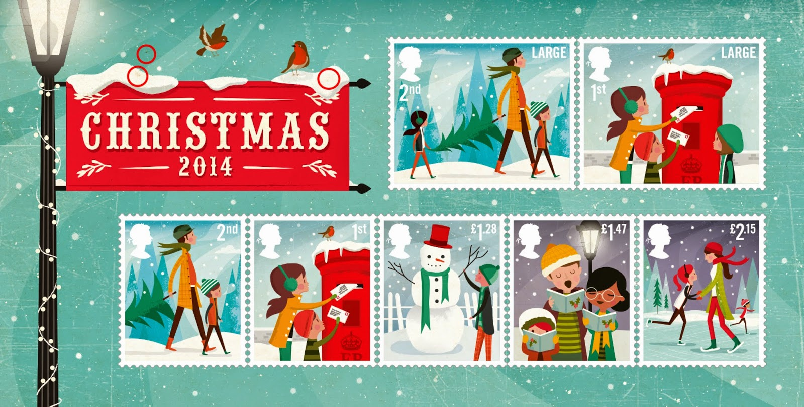 Usps Christmas Stamps.The Stamp Collecting Round Up November 2014