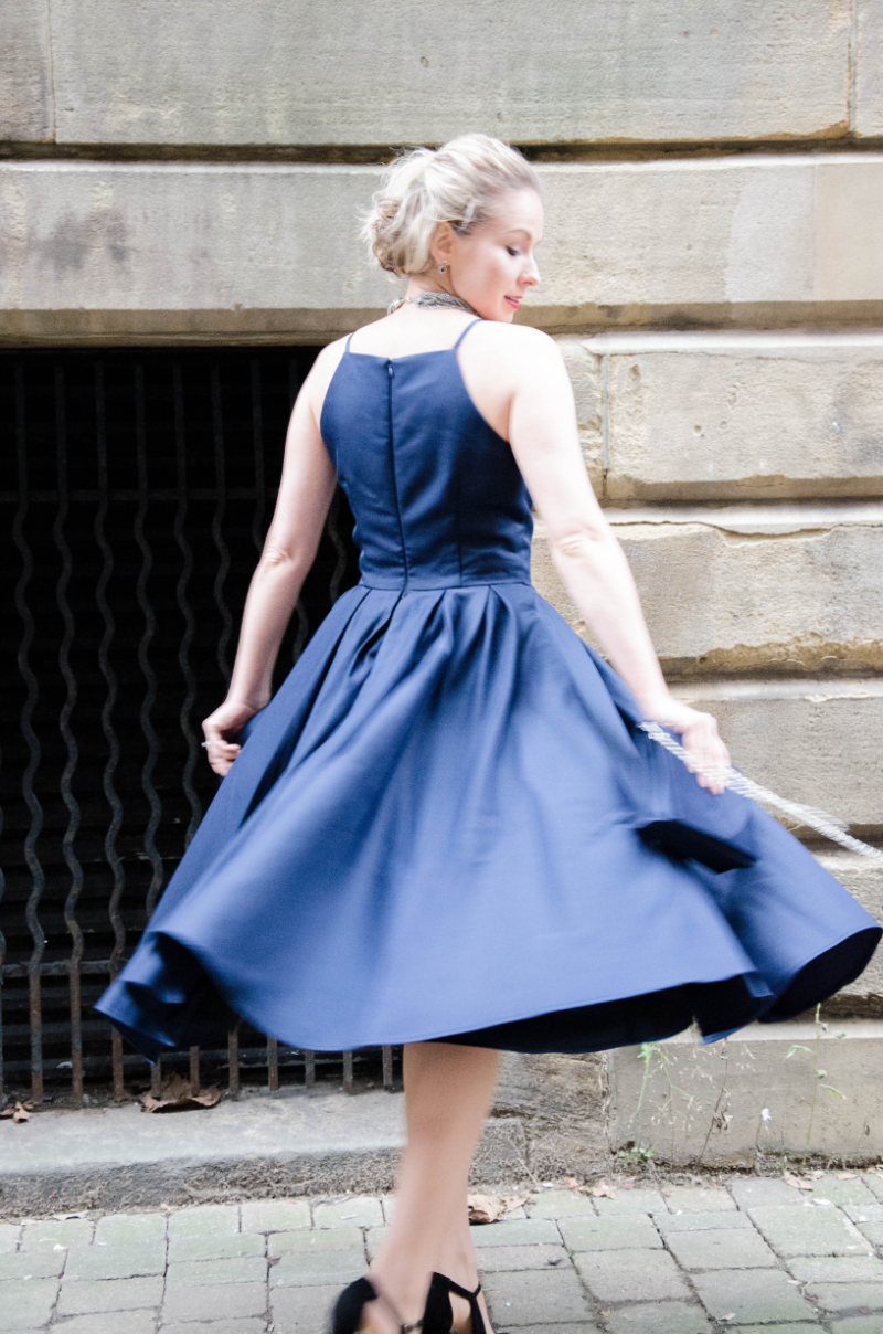 Outfit Post: Fifties Inspired Party Dress