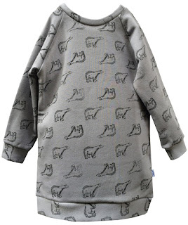 robe sweat original enfant cadeau vêtement made in france