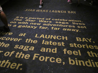Star Wars Carpet at Hollywood Studios