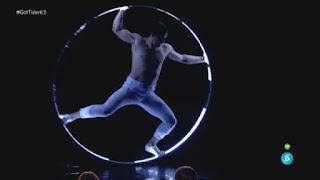 Francisco: artista de circo gotalent