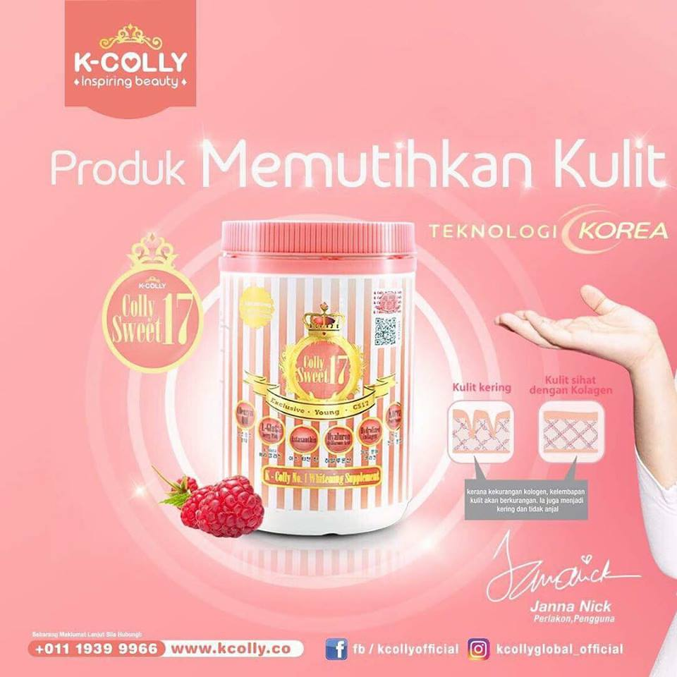 K Colly Collagen Harga K-COLLY SWEET 17 | NAA...