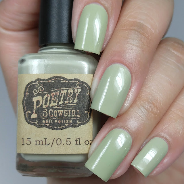 Poetry Cowgirl Nail Polish - Elephants Are My Favorite