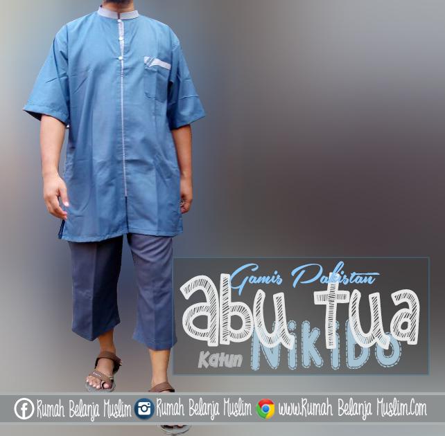 Model Baju Gamis Pria Terbaru Katun Nikibo