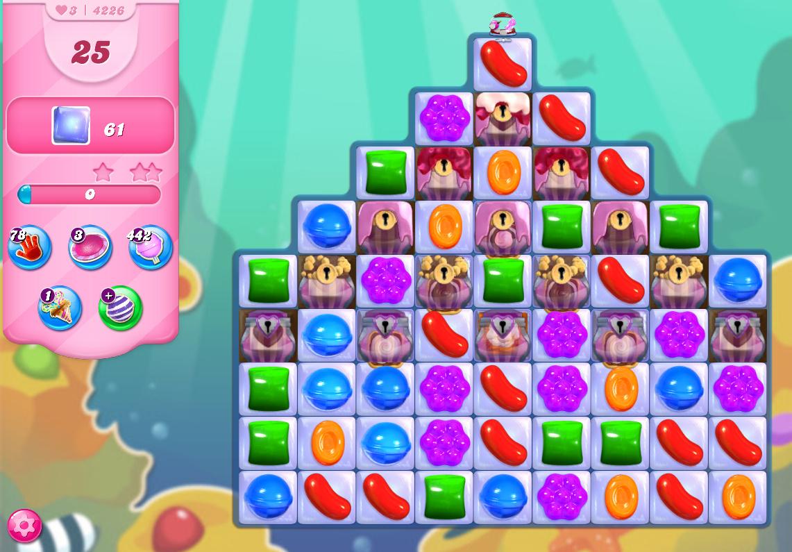 Candy Crush Saga level 4262