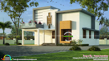 Kerala House Plan With Estimate 25 Lakhs - Home