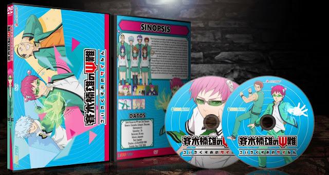 Saiki Kusuo no Ψ-nan 2nd Season | Cover DVD |