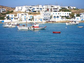 Vistas de Koufonisia - Islas Griegas