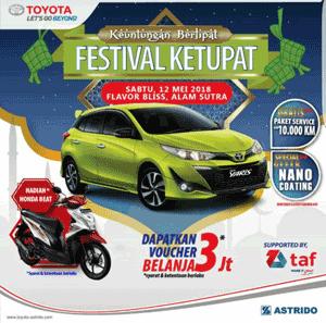 Promo Toyota Terbaru Diskon, Hadiah Undian Mei 2018