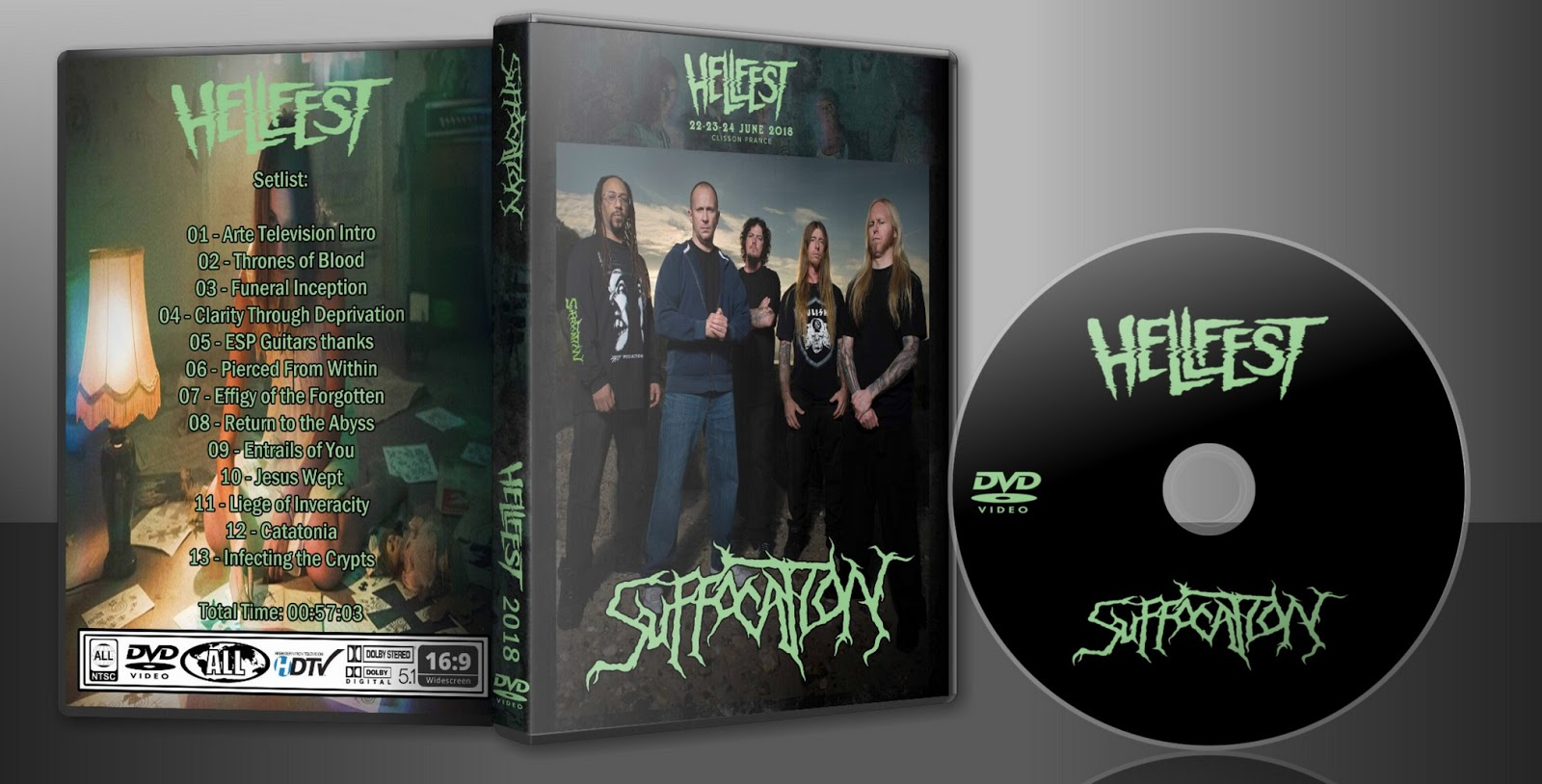 Arte Tv Hellfest 2017 Deer5001rockcocert Suffocation 2018 Hellfest Hd Webcast Dvd