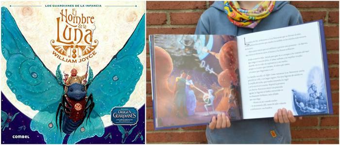 cuento infantil el hombre de la luna william joyce origen guardianes de la infancia