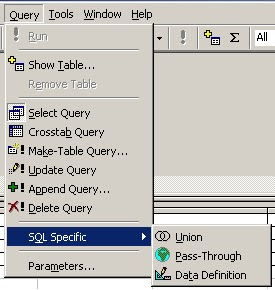 append query in sql