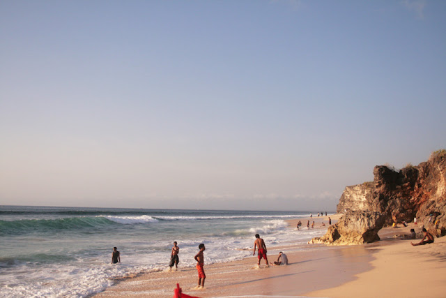 Holiday in Bali - Dreamland beach.